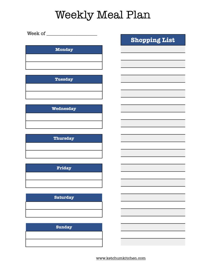 This is a meal planning template for planning your meals Monday-Friday and includes a shopping list. The file is a digital pdf file that I designed myself. Prints on standard 8.5 x 11 paper. I can customize upon request!