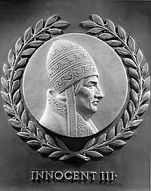 Pope Innocent III - Wikipedia, the free encyclopedia