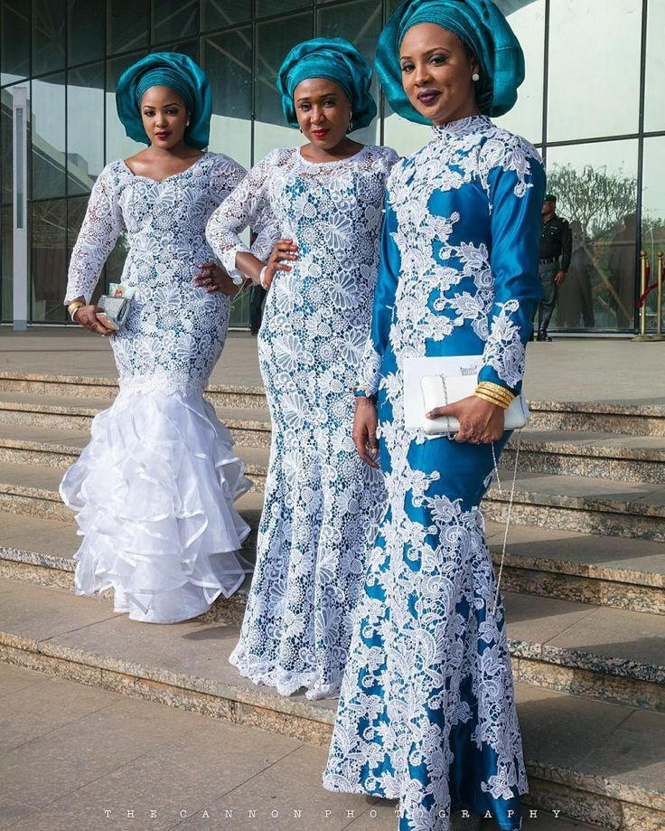 African Wedding: Best 25+ Nigerian Lace Styles Ideas On Pinterest