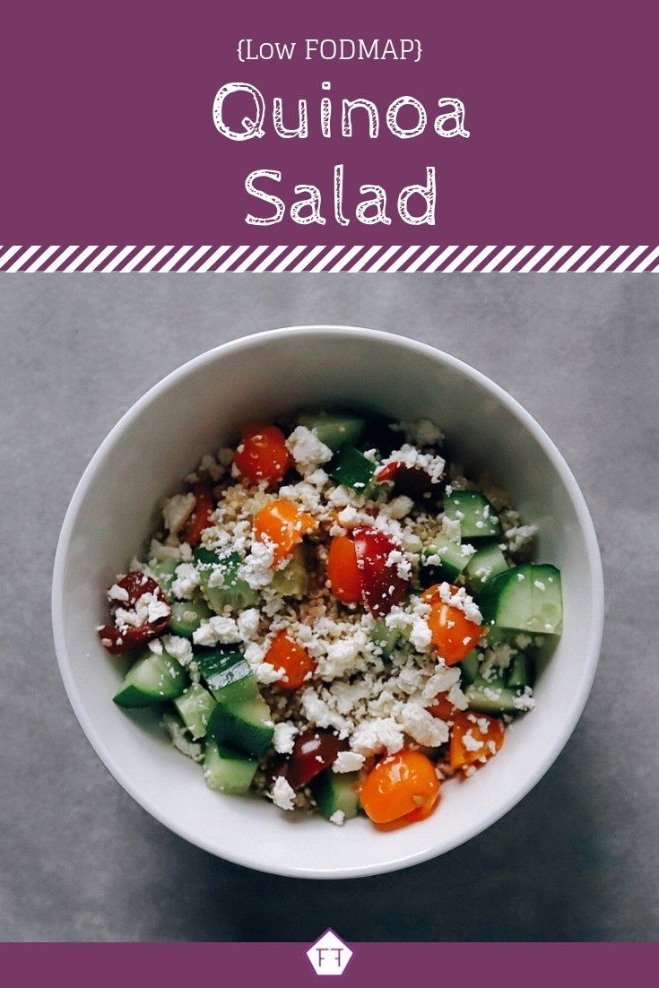 Looking For A Healthy Lunch Idea Check Out This Low Fodmap Quinoa