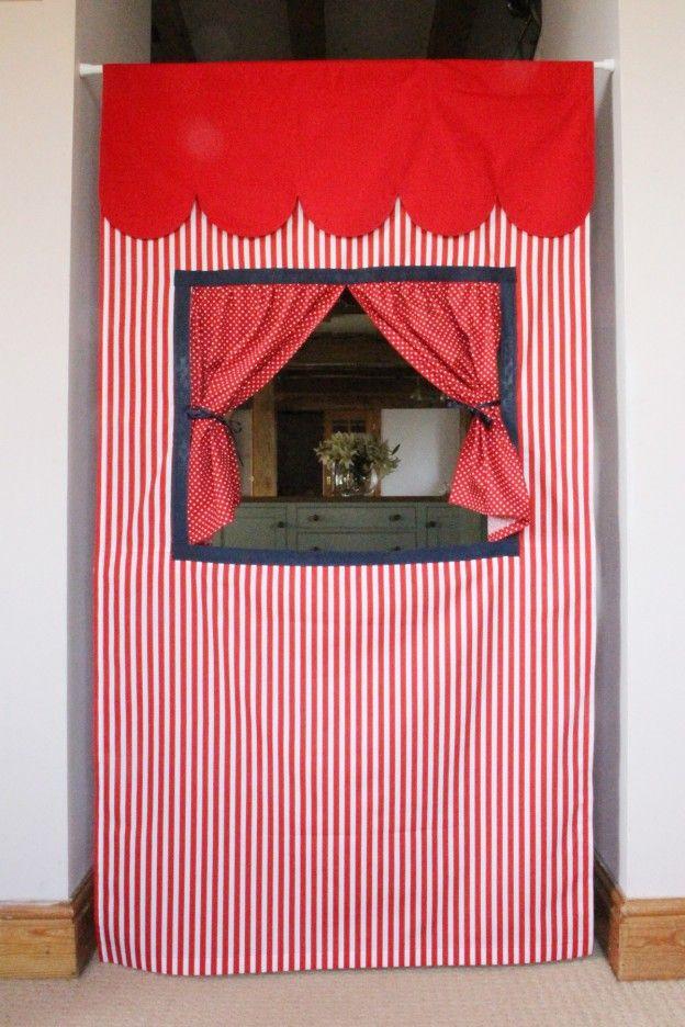 Portable Doorway Puppet Theatre