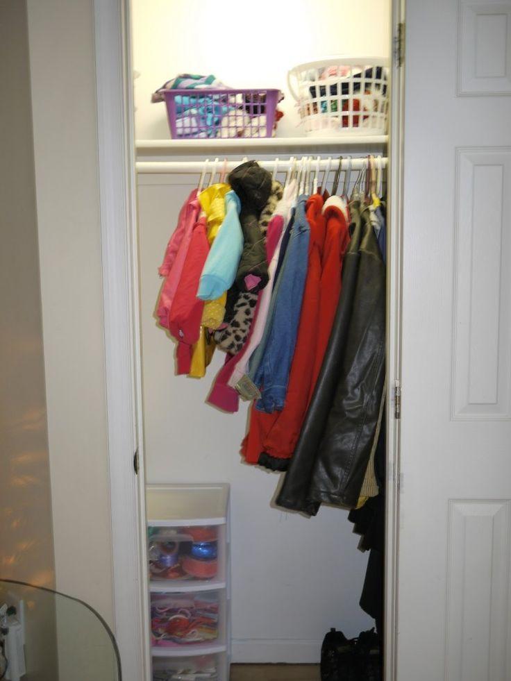 19 amazing organize coat closet picture idea