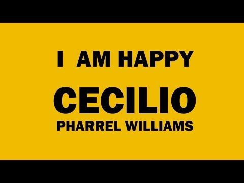 PHARREL WILLIAMS - WE ARE HAPPY FROM - CECILIO - BISCEGLIE - PUGLIA