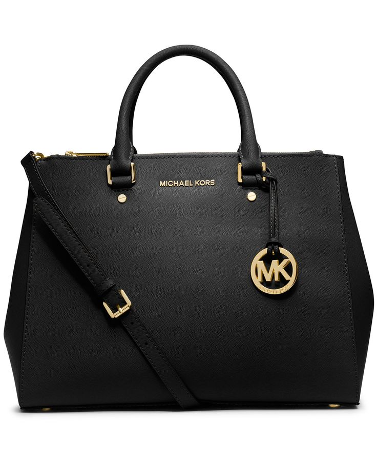 MICHAEL Michael Kors Sutton Large Satchel - Designer Handbags - Handbags \u0026  Accessories - Macy\u0027s