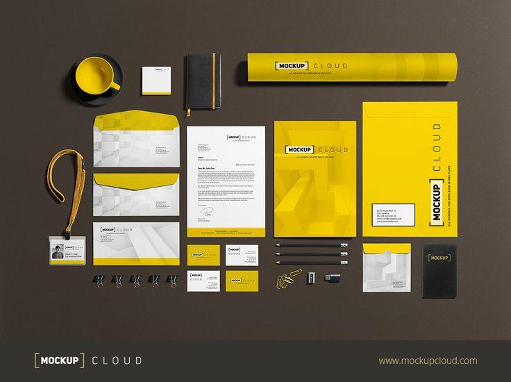 Business Stationery Mock Up Business Stationery Business Card Layout Design Branding Design Inspiration
