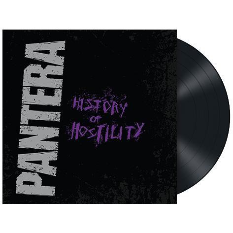 """L'album dei #Pantera intitolato """"History of hostility"""" su vinile nero."""