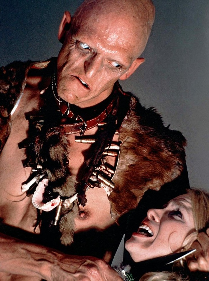 Pluto (from The Hills Have Eyes, 1977). Portrayed by Michael Berryman