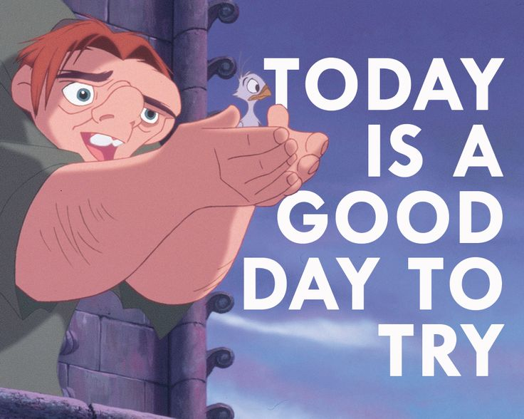 """""""The Hunchback of Notre Dame"""" - Today is a good day to try."""
