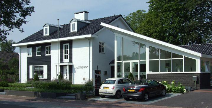 EVE-architecten - Woonhuis en kantoor te Hellendoorn