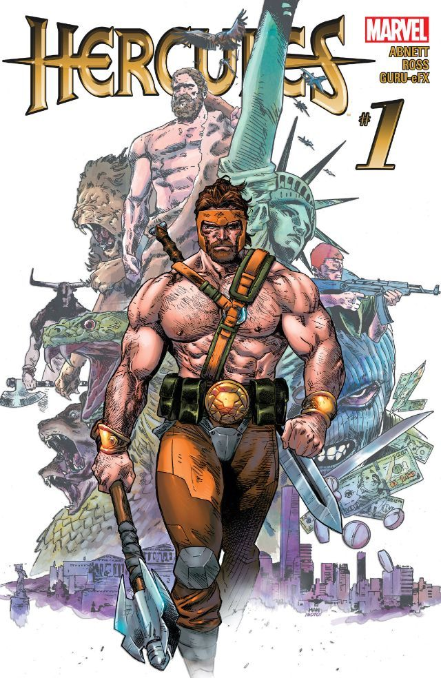 #Hercules (2015) #1 #Marvel (Cover Artist: Clay Mann) Release Date: 11/4/2015
