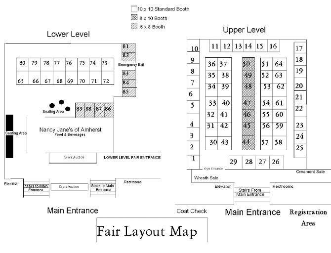 Winter Craft Fair Layout - CHD