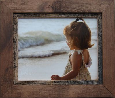 20x30 Rustic Wood Frame - Myrtle Beach Series [HC-20x30-MBS] : MyBarnwoodFrames.com | Barnwood Frames, Rustic Picture Frames, Rustic Mirrors & Home Decor