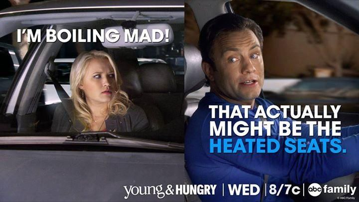 """We love Gabi and Josh's friendship! They're so silly! """"I'm boiling mad!"""" """"That actually might be the heated seats"""" 