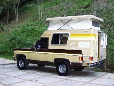 mini motorhome | or when Chevy offered the Blazer Chalet -