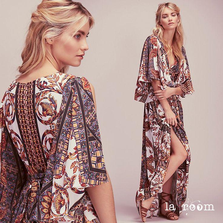 Vestido primavera - verano 2016 ideal para eventos. #maxidress #maxivestido #bodas #eventos #laroomterrassa www.facebook.com/...