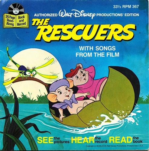The rescuers....on vinyl