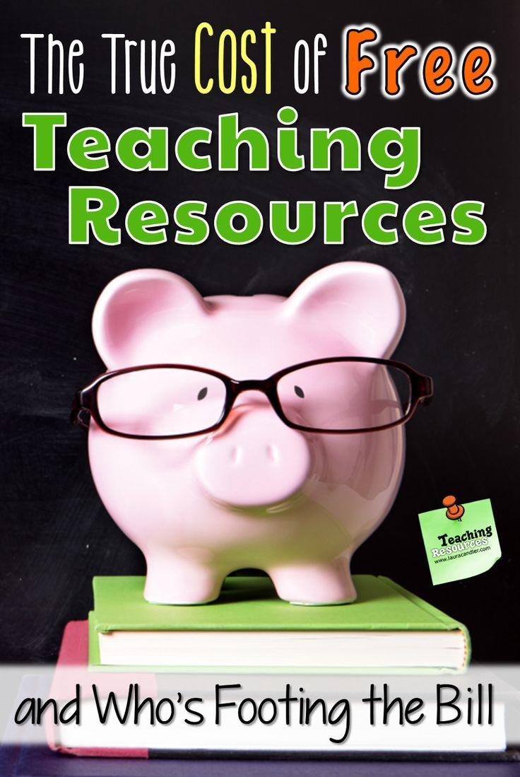 If you love free teaching resources, read this post to find out some facts that might surprise you!