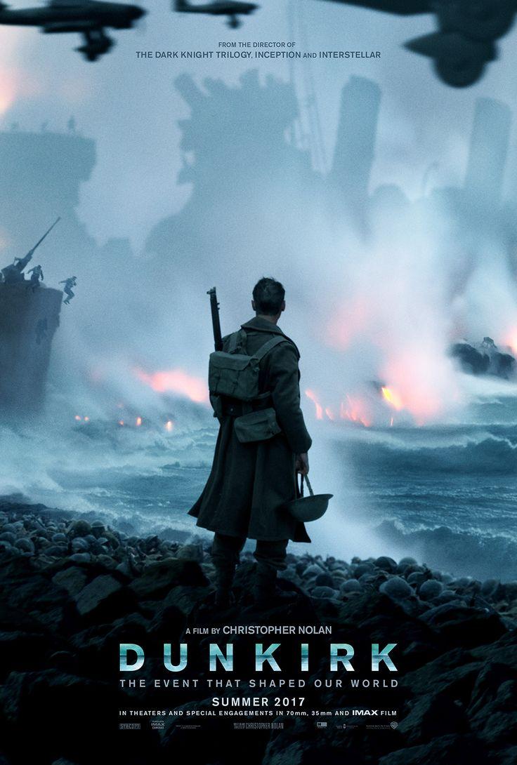 La première affiche de Dunkirk, le nouveau projet de Christopher Nolan. Sortie prévue : juillet 2017