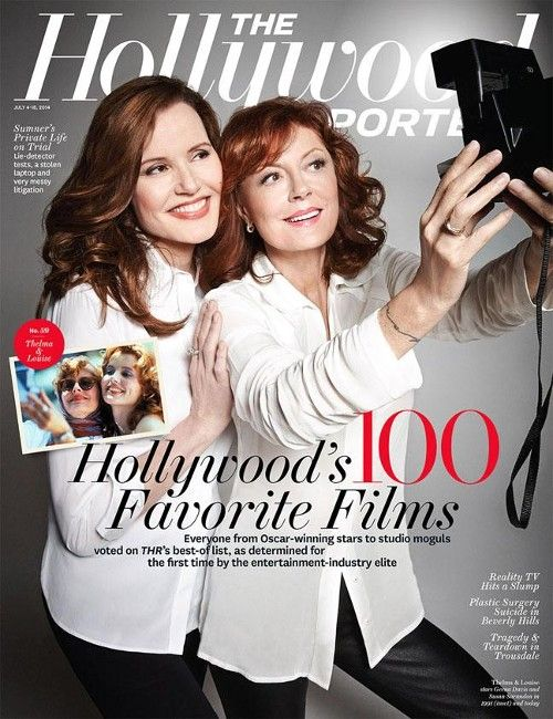 'Thelma & Louise' Reunion: Geena Davis, Susan Sarandon on Brad Pitt's Audition and That Shocking Ending