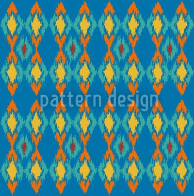 Tribal Dance Water by Nina May, available for download as a vector file on patterndesigns.com