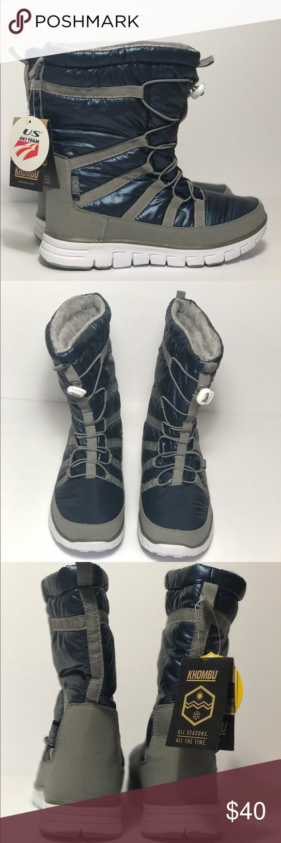 KHOMBU (Boots) Women's 8 NWT Original: $63.30 KHOMBU (Boots) Size: Women's 8 NWT Original: $63.30 Lightweight durable, easy to use with gloves. The brand the US Ski team uses available to you!  Make me an offer😀 Khombu Shoes Winter & Rain Boots