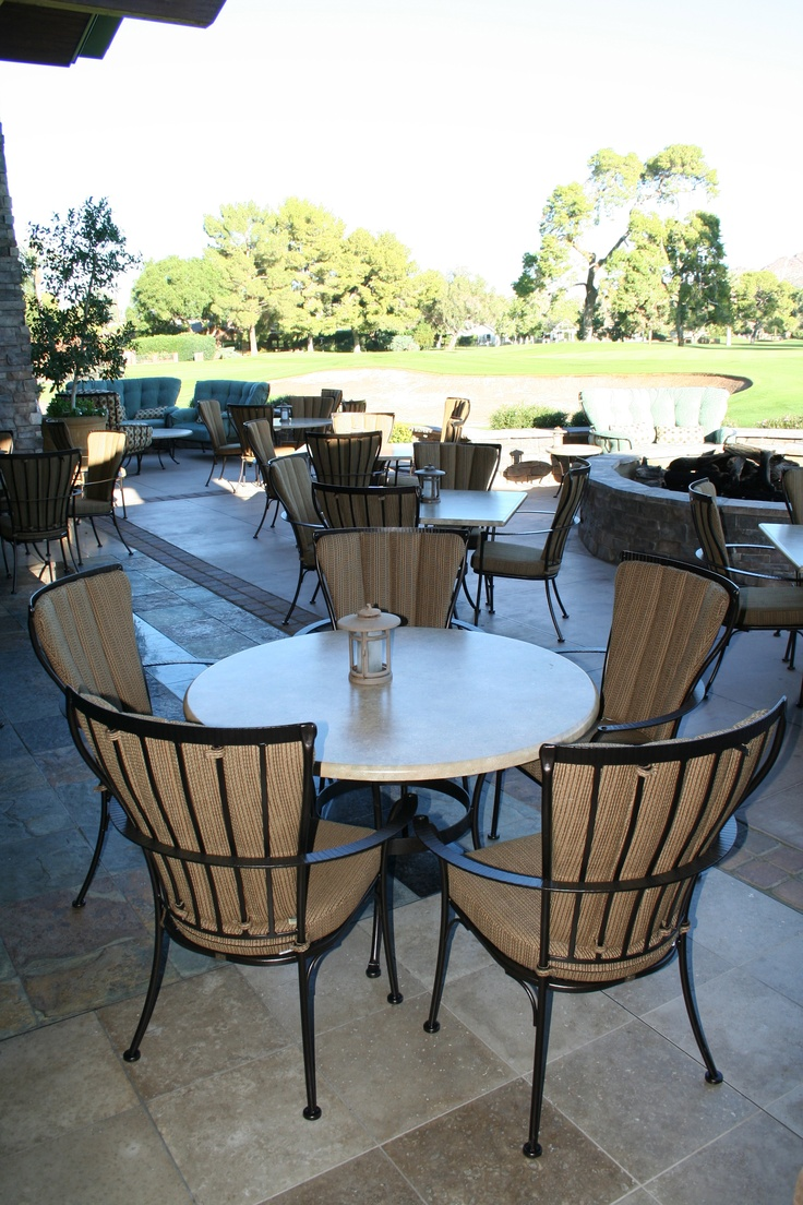 The Ow Lee Monterra Collection At The Arizona Country Club Commercial Outdoor Furniture