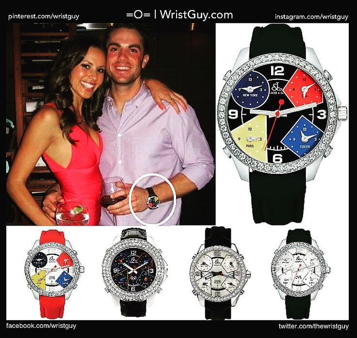 Wonder what New York Mets fans think about David Wight's choice of accessory...and yes...I mean the watch, not the wife...#nyc #newyork #newyorkcity #mets #newyorkmets #nymets #davidwright #watch #watches #fashion #luxury #swag #fresh #jacobandco #mollybeers #5 #hustle #worldseries