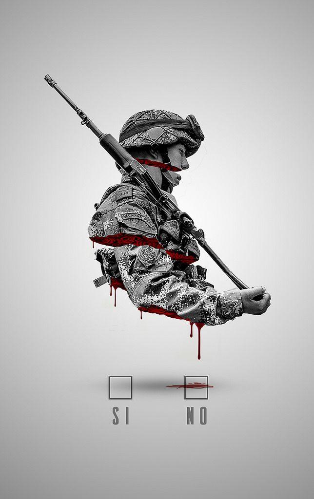 https://flic.kr/p/KDWBEJ   soldier   for the Colombian Peace Referéndum