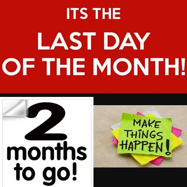 The last day of the month and 2 months to go in this year. WOW #lastdayofthemonth #lastmonthofspring #2monthstogo #wow #halloween #tuesday #terrifictuesday #tuesdaymotivation #TuesdayThoughts #health #fitness #wellbeing #wellness #instahealth #instafitness #alliedhealth #softtissuetherapy #fitfam #instafit #ebmyotherapy #melbourne #instamelbourne #instadaily