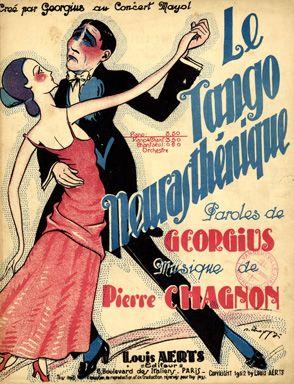 Le Tango Neurasthénique, 1922 (ill.: Y. R. Choppy); ref. 1093