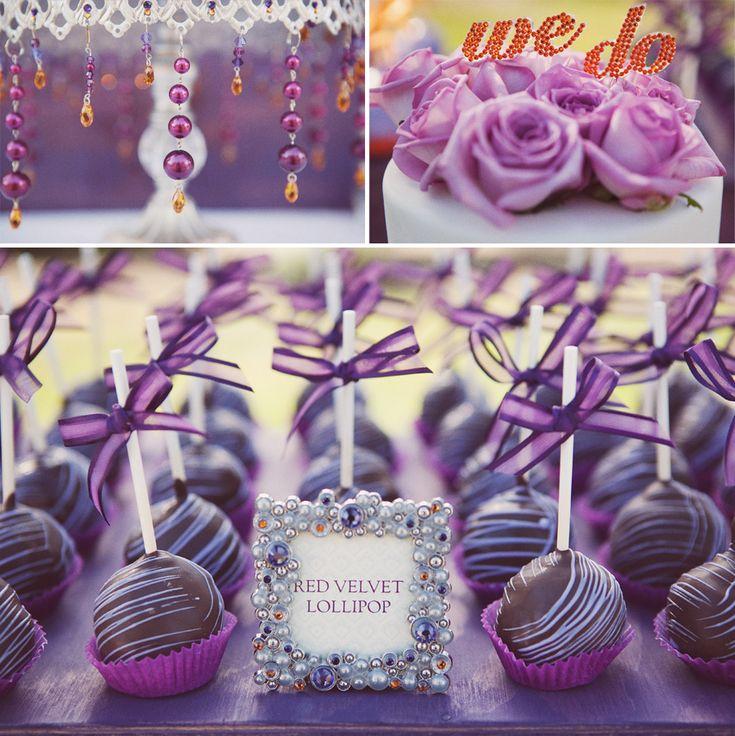 Love The Cake Pop Wedding Favor Idea
