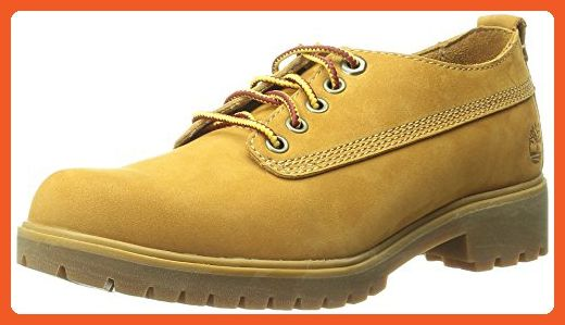 Timberland Women's Lyonsdale Lace Oxford, Wheat Nubuck, 9 M US - Boots for women (*Amazon Partner-Link)