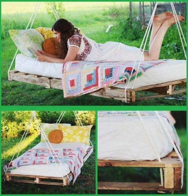 Качель кровать из поддона