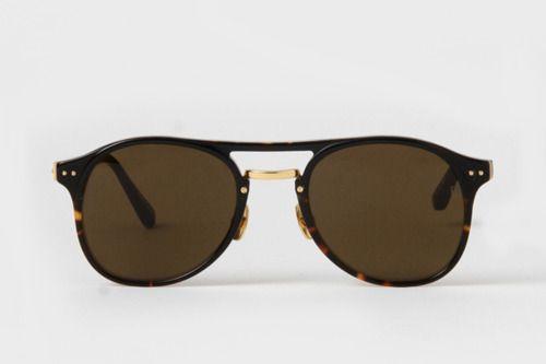 Glasses Sunglasses, Essential Shades, Aviators Sunglasses, Accessories, Aviator Sunglasses, Black Tortoies, Linda Farrow, Black Tortoises, Sunglasses Black