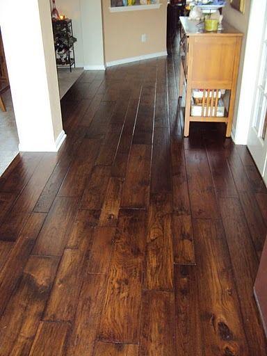 Lovely Basement Hardwood Flooring