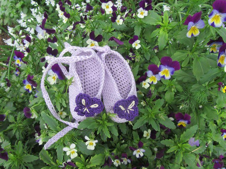 ballerine con le violette
