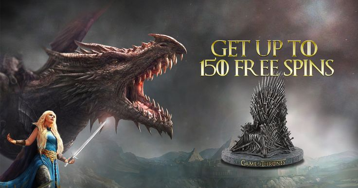 The 7th season of the epic Game of Thrones saga comes to an end! If you consider yourself a true fan of the series, than our promotion is what you need! Make the maximum number of bets on a Game of Thrones 243 ways slot and win up to 150 free spins for a Dragon Island slot game.