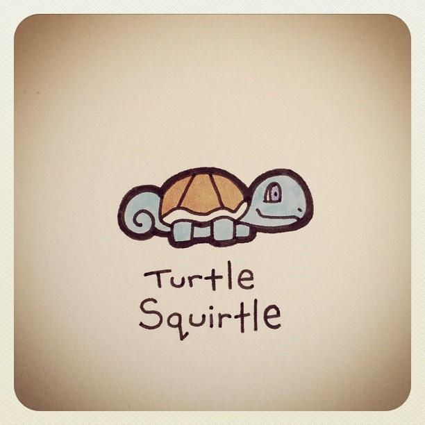 Turtle Squirtle #turtleadayjune - @turtlewayne- #webstagram