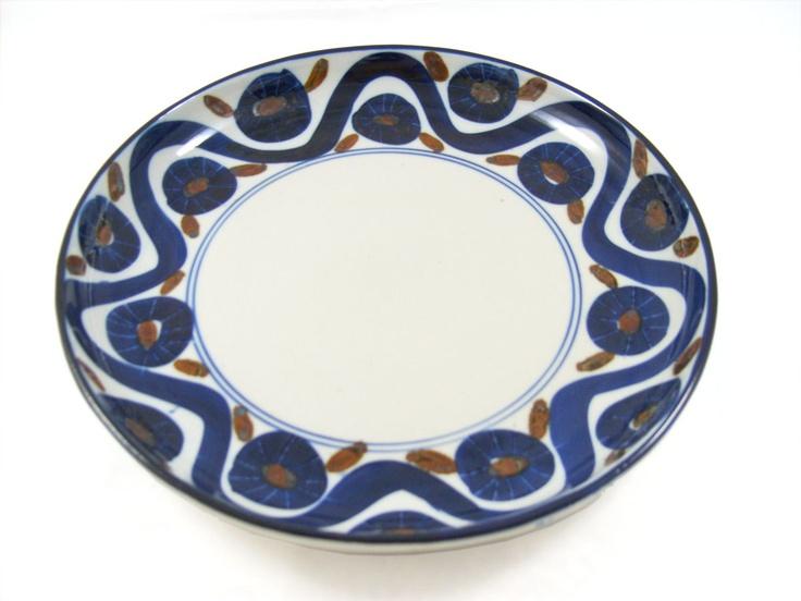 Dansk Vintage Studio Pottery Platter Danish Modern