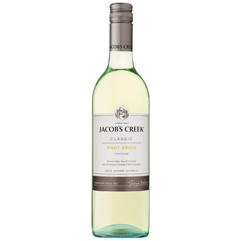 Pinot Grigio– Jacob's Creek 750 ml | Shop Australia