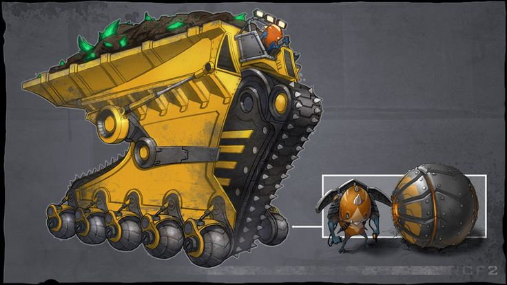 Kerchu Carrier by CreatureBox.deviantart.com on @deviantART
