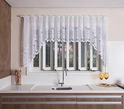 Cortinas de cocina baratas las cortinas de cocina for Cortinas trabillas baratas