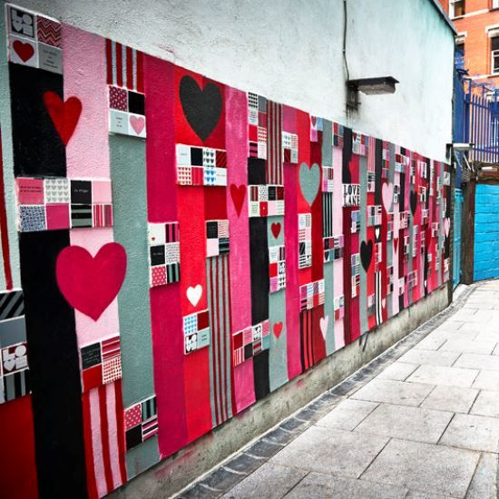 Dublin Street Art #LoveDublin #Art #Street #Urban #Colour #Heart