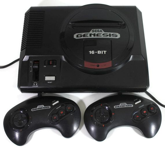 Sega Genesis Model 1 Console 16 Bit Retro Gaming by Retro8Games