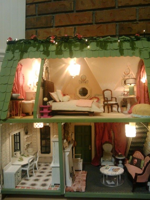29 Best Orchid Dollhouse Images On Pinterest Dollhouses