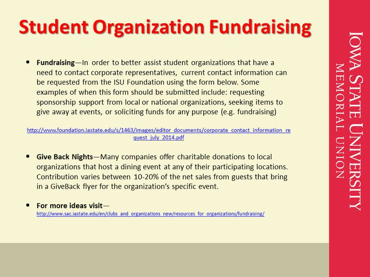 Student Organization Fundraising Iowa State University Student Organizations Student Organization Iowa State University Student