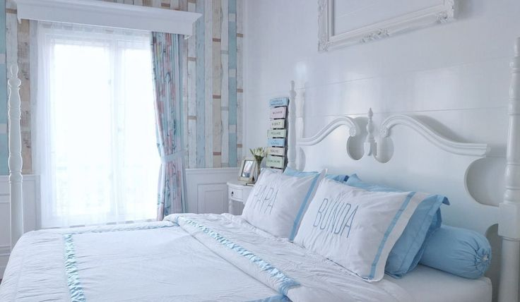 Shabby Chic | bedroom | American Victorian With Shabby Chic House | Jakarta | Rumah Sabine