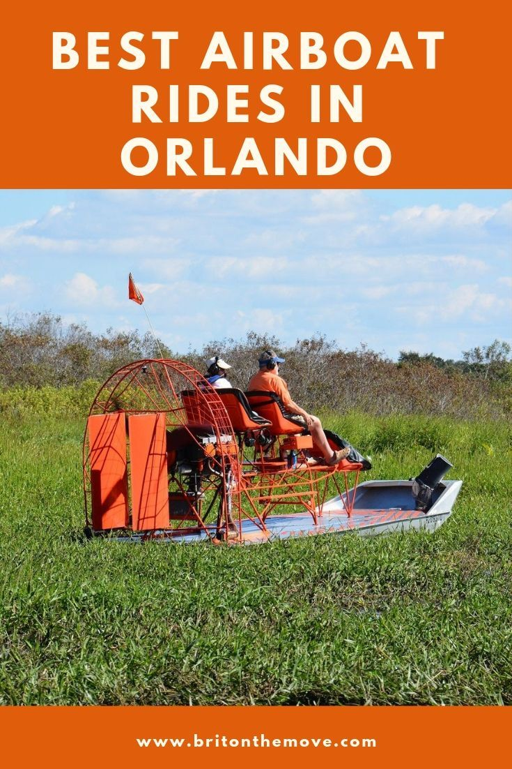 Five Best Airboat Rides Near Orlando Airboat rides