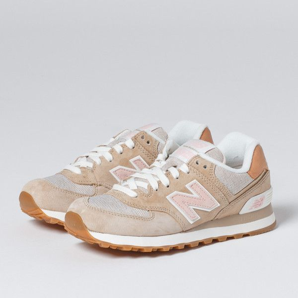 New Balance 574 Beige / Pink. (With images) | New balance ...