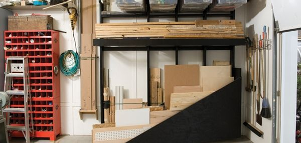 17 best images about garage on pinterest storage bins lumber storage rack and storage tubs. Black Bedroom Furniture Sets. Home Design Ideas
